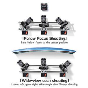 YC Onion Hot Dog Motorized Camera Slider Track Rail for Gimbal DSLR App Control