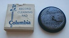 VINTAGE COLOMBIA RECORDS MAGIC NOTES RECORD CLEANING PADIN ORIGINAL BOX