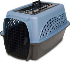 Petmate 2 Door Top Load Carrier, Ash Blue