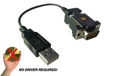 Universal DB9 to USB joystick adapter