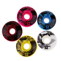 4pcs 100A 52x30mm Skateboard Wheels PU Skate Wheels