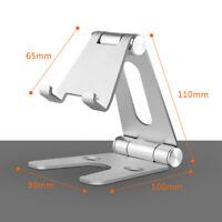 Desk Stand Holder Cradle Bracket For iPhone Samsung Cell Phone Tablet Universal
