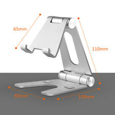 Universal Foldable Aluminum Desk Stand Adjustable Holder For iPhone iPad Tablet