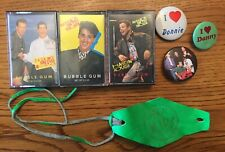 New Kids on the Block Bubble Gum Cassettes Buttons Pins 1990 Bracelet Nkotb Lot
