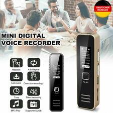 Mini USB Diktiergerät Digital Audio Voice Recorder Sprachaufnahme Aufnahmegerät