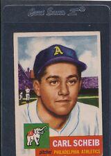 1953 Topps #057 Carl Scheib A's VG/EX 53T57-51216-1