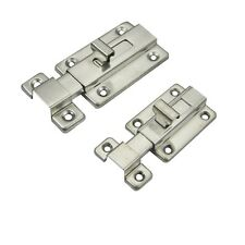 Door Shed Lock Bolt Catch Latch Slide For Bathroom Toilet Bedroom Stainless Stil