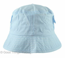 Baby Sun Hat Boys Girls 100% Cotton Bucket Summer Beach 0-3, 3-6, 6-12 Months