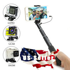 BlitzWolf™ Mini Extendable Wired Selfie Stick Monopod For iPhone 6 Samsung