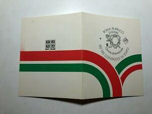 1981 Folder Poste Italiane Filatelia 150° Consiglio di Stato
