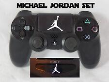 Playstation 4 PS4 Controller Michael Jordan Light bar Touchpad Decals Set