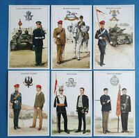 The British Army The Cavalry Postcards Set of 6 (Set 2) by Geoff White Ltd