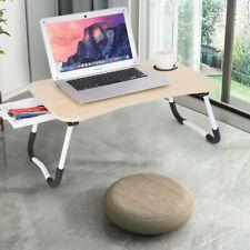 Large Bed Tray Foldable Portable Multifunction Laptop Desk Lazy Laptop Table KHA