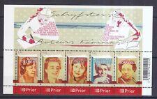 Belgien 2007 postfrisch Block MiNr. 118 Literatur Schriftstellerinnen