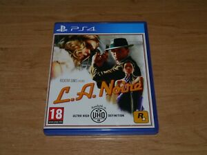 L.A Noire Game for Sony PS4 Playstation 4