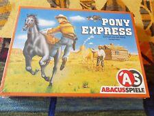 PONY EXPRESS +++ ABACUS +++ OVP +++ ALAN R MOON