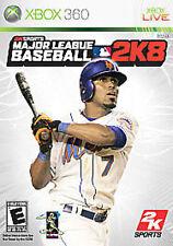 Major League Baseball 2K8 2008 08 8 GAME (Xbox 360) **FREE SHIPPING!!