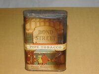 VINTAGE PHILIP MORRIS BOND STREET PIPE SMOKING TOBACCO TIN ****EMPTY***