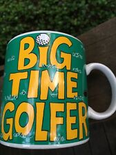 Russ big time golfer golf Mug Hole In one Putt Fathers Day! Large Cup