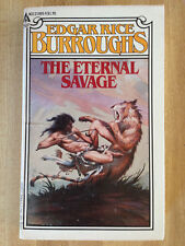 Edgar Rice Burroughs THE ETERNAL SAVAGE Lover 1978 Great Cover Art L@@K WOW!!!