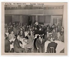 1946 NEW BEDFORD HOTEL Aerovox Salemen Conclave PHOTOGRAPH Photo MASSACHUSETTS