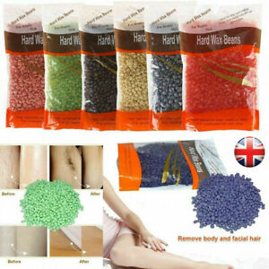 HARD WAX BEANS Beads NO STRIPS WAXING Pellets HOT BRAZILIAN BODY Hair Removal UK
