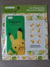 Pikachu Pokemon Little Tales iphone 5s Decor Sticker by Shinzi Kateh