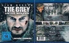 THE GREY - UNTER WÖLFEN --- Blu-ray --- Liam Neeson --- Ungekürzte Fassung ---