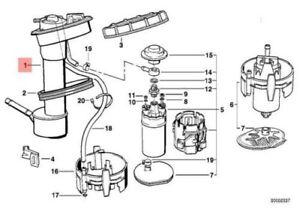 Genuine BMW E34(32) 1988-95 Sedan Sending Unit Assembly Plastic Fuel Tank OEM