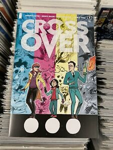 Crossover #1 Megan Hutchinson Exclusive Variant, limited to 500, Cates, Image NM