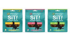Etta Says! Sit! Training Treats Asst Flavor Recipe Dog Treats, 6-oz bag  Free Sh