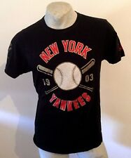 Maglia New York Yankees Cooperstown majestic T Shirt jersey trikot NY BASEBALL