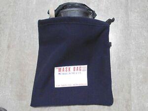 Deluxe Version Fire ISI EMT Blue Firefighter SCBA Mask Bag Respirator