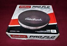 🔥 EDELBROCK 14 IN ROUND 1223 AIR CLEANER PRO-FLO CHEVY FORD DODGE PONTIAC