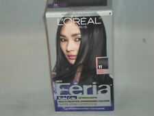 L'Oreal Pairs Feria Permanent Hair Color Rebel Chic  Cool Black          LF-11