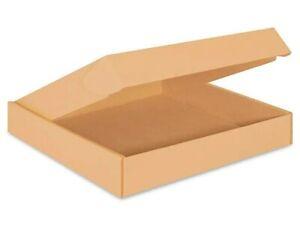 50 Pack - Cardboard Shipping Boxes Kraft Tab Locking Mailers 16 x16 x 2.75
