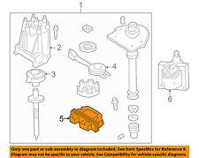 GM OEM-Crankshaft Crank Position Sensor Bracket Mount 10482803