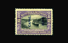 US Stamp, Canal Zone/Panama Mint OG & H, VF S#49 Very lightly hinged