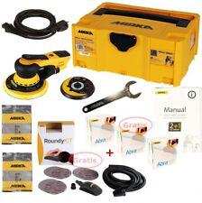 Ponceuse Électrique Mirka Deros 5650CV Set + 150 Abranet Disques, Boîtier