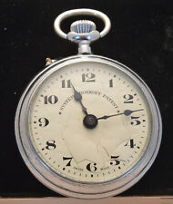 Vintage pocket watch Roskopf swiss made, running