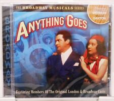 Anything goes + CD + la musica originale da cui Broadway musical + 19 CANZONI +