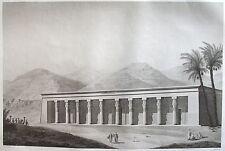 THEBES. QOURNAH. (pl. 43, A. vol. II). Vue perspective.... DESCRIPTION EGYPTE