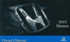 2010 Honda Element Owners Manual User Guide Reference Operator Book Fuses Fluids