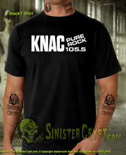 KNAC Pure Rock 105.5 T-Shirt Metal Heads FM Radio Station S-6XL