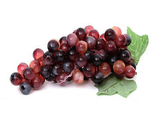 TOP QUALITY ARTIFICIAL LARGE RED GRAPE BUNCH