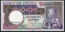 Angola 500 escudos 1973.06.10. Luiz de Camoes & Rock Formation P107 F/VF