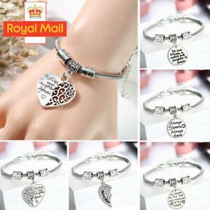 UK Personalised Christmas Gift Bracelet for Mum BF Nanny Aunt Mom- Xmas gifts