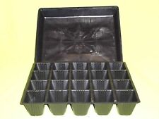 Plastic Seedling Tray Liner Kwikpot 20 Cell(65x65)mm with Hydro tray