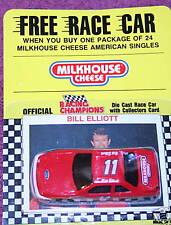 BILL ELLIOTT #11 MILKHOUSE CHEESE PROMO 1/64 SCALE CAR