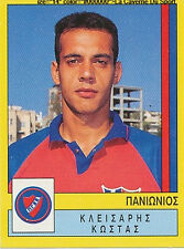 N°303 KOSTAS KAISARIS PANIONIOS GREECE PANINI GREEK LEAGUE FOOT 95 STICKER 1995